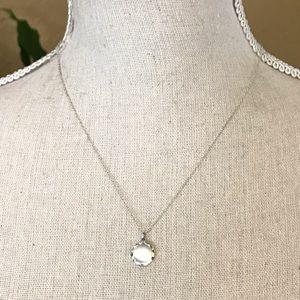 Vintage LeStage Sterling Locket Pendant Necklace